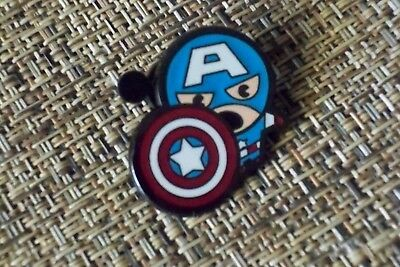 AUTHENTIC Marvel Kawaii Art Mystery Pouch Captain America Disney Pin 109954- 811