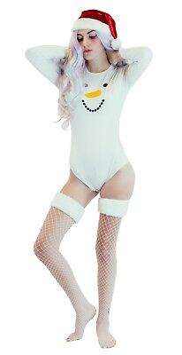 Adult Baby Diaper Lover Snap Crotch Romper Pajamas Frosty The Snowman big Baby