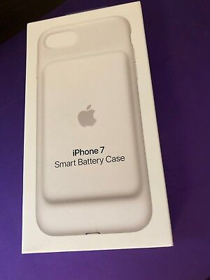 Genuine Apple iPhone 7 Smart Battery Case White (MN012LL/A) Brand New Sealed