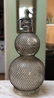 Magnificent Antique French Provincial Paris Large Water Sida Syphon From Winery