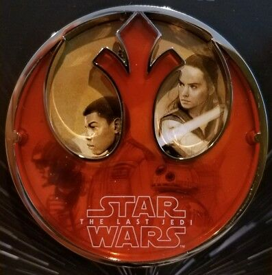 Disney Star Wars The Last Jedi Force For Change Jumbo Pin NEW Limited Release