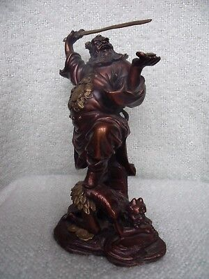 Chinese Immortal, Celestial Guardian. Bronze