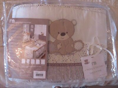 Mothercare Teddy's Toy Box Cot Bed Bumper