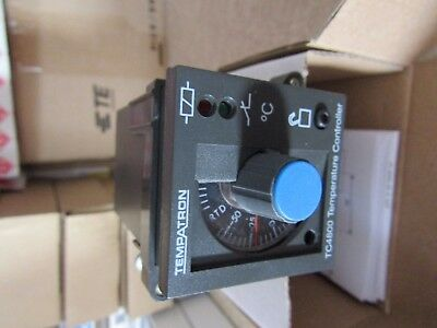 Tempatron PID Temperature Controller, 48 x 48mm, 1 Output Relay A6 3763681
