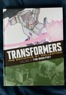 Transformers Definitive G1 Collection - The Iron Fist - issue 11 volume 31