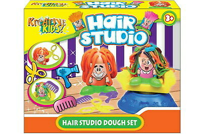 NEW Hair Studio Dough Set | Kids Arts Crafts Play Doh Craft Toys | ihartTOYS