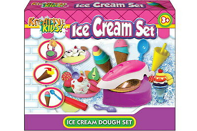 NEW Ice Cream Dough Set | Kids Arts Crafts Play Doh Craft Toys | ihartTOYS