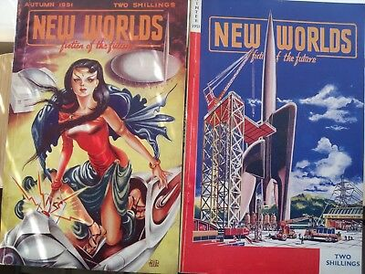 New Worlds Fiction of the Future issues 11 To 20 Autumn 1951 - March 1953