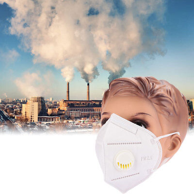 White Filter Cloth Comfortable Breathable Anti-Dust Mask Anti-Pollution Bike