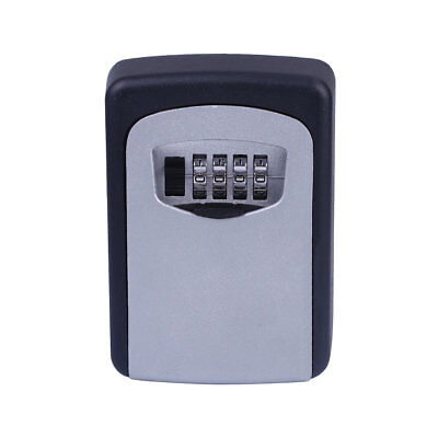 Security 4-Digit Password Combination Lock Key Holder Lockbox Lock Box