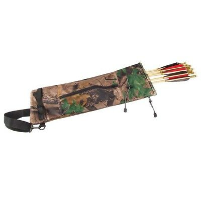 5X(Arrow Archery bow quiver Bag for Outdoor Hunting Camouflage I8G1 U)