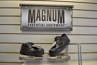 Magnum Duty Lite CT Black Leather Safety Shoes UK Size 7 EU 41 Security