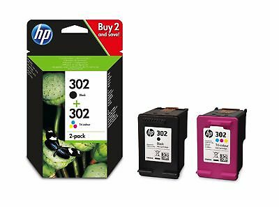 HP 302 Black & Colour Genuine Original Ink Cartridge For OfficeJet 4650 Printer