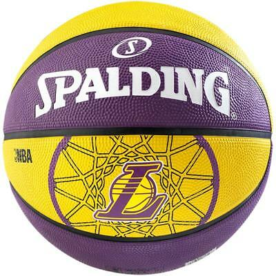 Spalding Basketball Team L.A. Lakers Fanball Outdoor 3001587010617 Gr. 7