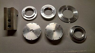 Aluminum CNC Lathe Spindle Disc Stop Chuck Parts Scrap Bearing Components???