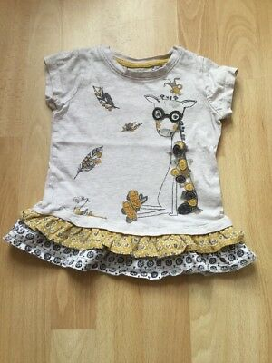 Next Girls Top/  Tshirt Age 12-18 Months