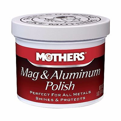 Mothers Mag And Aluminium / Alloy / Metal / Rims Polish Paste 10oz / 295ml -NEW
