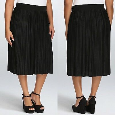 90d7389025 NWT BLACK PLEATED Lace Skirt Size 12 Next Rrp £40.00 - $18.02 | PicClick