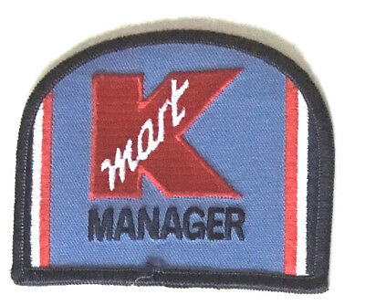 K mart Manager patch 3 X 3-5/8 #32