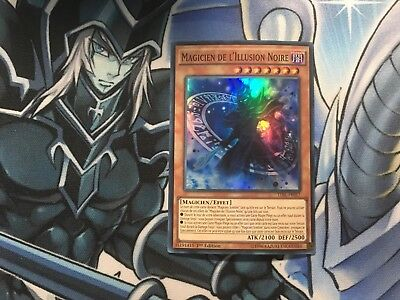 Magician Of Dark Illusion Super Rare French Tdil-En017 Fr017 Near Mint Yugioh