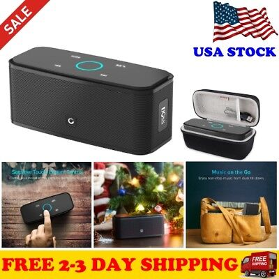 Wireless Bluetooth Speakers Super Bass Portable DOSS Touch with HD Sound New ...