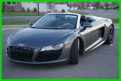 Audi R8 5.2 2011 Audi R8 Spyder Quattro Convertible  5.2 Used 5.2L V10 40V Automatic AWD