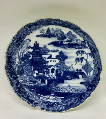 Antique Chinese Saucer/bowl Blue And White