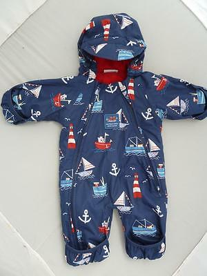 JOJO MAMAN BEBE Waterproof Fleece Lined All In One 0-3m SNOWSUIT Next Winter