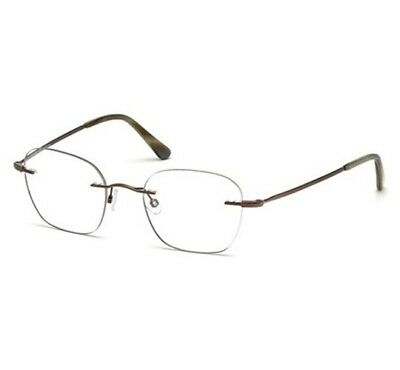 bbbbee06290 TOM FORD EYEGLASSES FT5341 036 Shiny Dark Bronze   Clear Lens ...