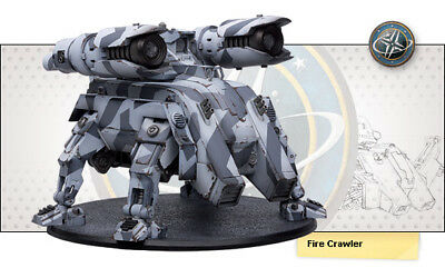 RACKHAM AT-43 Fire Crawler U.N.A Unit Box Miniature Strategy Game RPG  Sci-fi