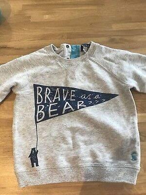 12-18 Month Boys Joules Grey Jumper