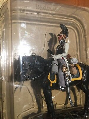 1/32 Eaglemoss Collection Napoleonic War Russian Cuirassier Cavalry Figure