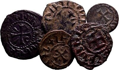 Cilician Armenia. Lot of 5 Selected good quality coins ! Dont Miss!
