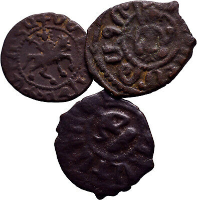 Cilician Armenia. Lot of 3 Selected good quality coins ! Dont Miss!