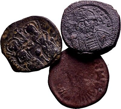 BYZANTINE EMPIRE. Lot of 3 Nice LArge Coins!