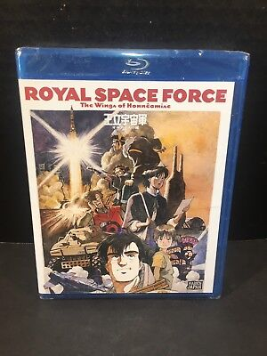 Royal Space Force - The Wings of Honneamise (Blu-ray Disc, 2013) NEW