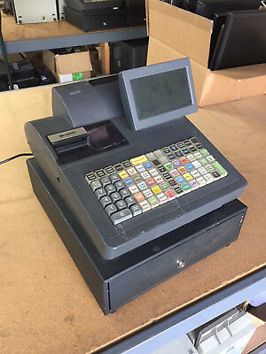 SHARP UP-820N 800 UP800 Cash Register with Touch-Screen, Raised Keyboard, RAM