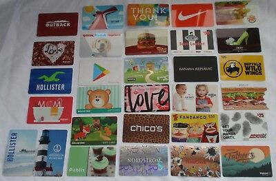 Collectible Gift Card - YOU CHOOSE 3 for $1.59 - VS Nike Carnival - No $ Value