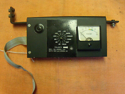 Fincor 104599501 test meter for 3120 series drives