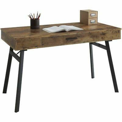 Rustic One Drawer Computer Desk