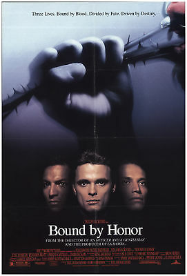 Blood in, Blood Out (aka Bound by Honor) 1993 27x40 Orig Movie Poster FFF-68660