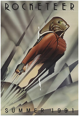 The Rocketeer 1991 27x40 Orig Movie Poster FFF-68638 Rolled Alan Arkin Disney