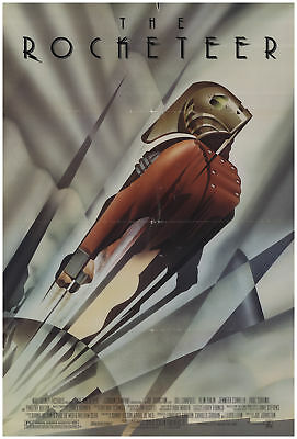 The Rocketeer 1991 27x40 Orig Movie Poster FFF-68632 Rolled Alan Arkin Disney