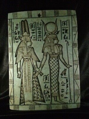 ANCIENT EGYPTIAN PHARAOHS ANTIQUITIES Stela Relief EGYPT Carved STONE 1153 BC