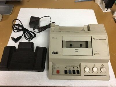 Norelco 2505 Dictation and Transcribing Machine  LFH 2505/54 with Foot Pedal