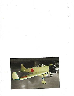 "postcard..Japanese ""Zero"" US Air Force Musum WPAFB.new....card #020"