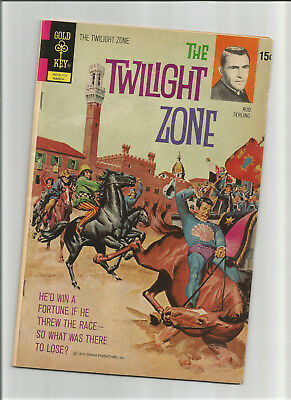 The Twilight Zone #42 {Mar 1972 Gold Key} Early Bronze Age F- Rod Serling Hosts!