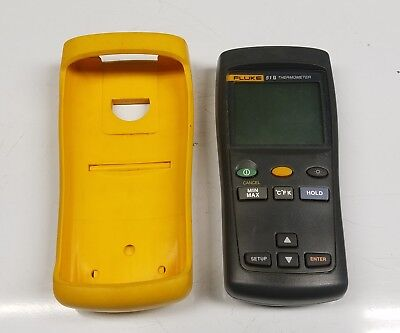 Fluke 51-Ii 51-2 Single Input Thermocouple Digital Thermometer Multimeter Clamp