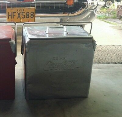 Coca cola stainless steel cooler