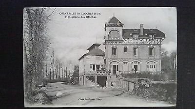 Cpa Corneville Les Cloches Hostellerie Des Cloches